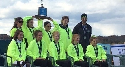 Union City Girls Cross Country Team, earn a second-place finish at the PIAA State Championship Race on November 3rd.  Congratulations, Ladies!