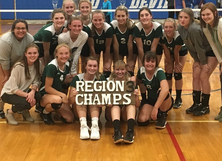 UC Volleyball Region 3 CHAMPS - Go Bears