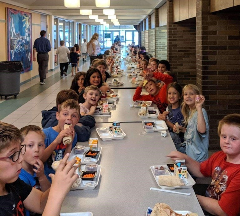 Afterschool Cub Club dinner time!