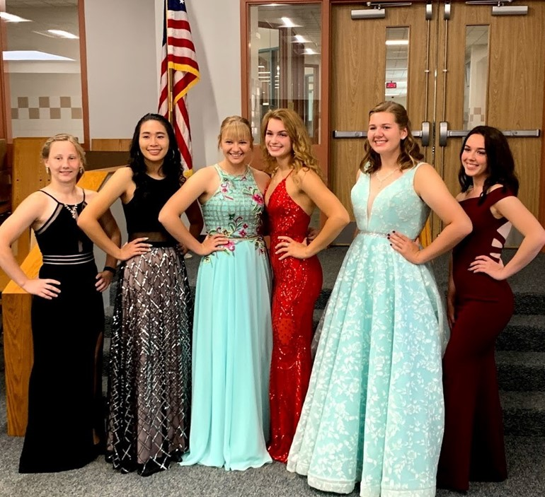2019 Home Coming Queen Candidates