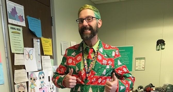 Mr. Shrout Green Hair