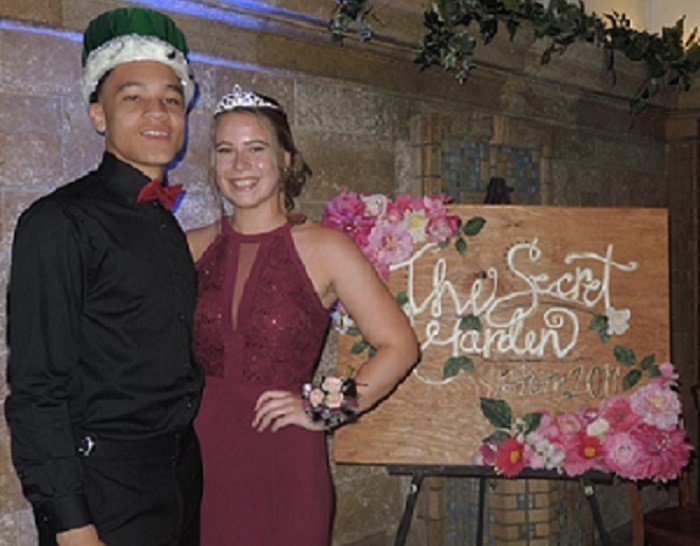 Congratulations to UC's 2019 Prom King and Queen: Miles Parker and Greta Gamm