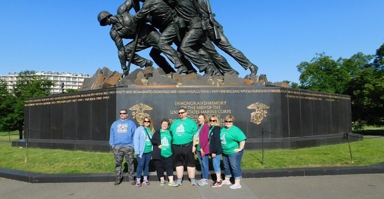 8th grade Washington D.C. trip