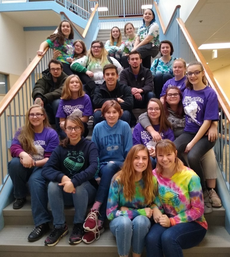Mrs. Post and Ms. Hoffman had the privilege to take high school students to Gannon University to compete in  The Battle of the Books.