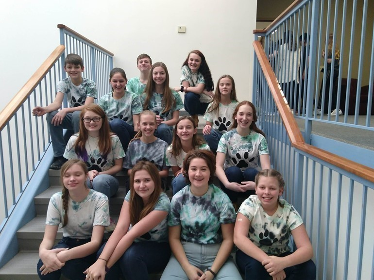 Mrs. Dobrzynski and Mrs. Winsor had the privilege to take middle school students to Gannon University to compete in  The Battle of the Books.