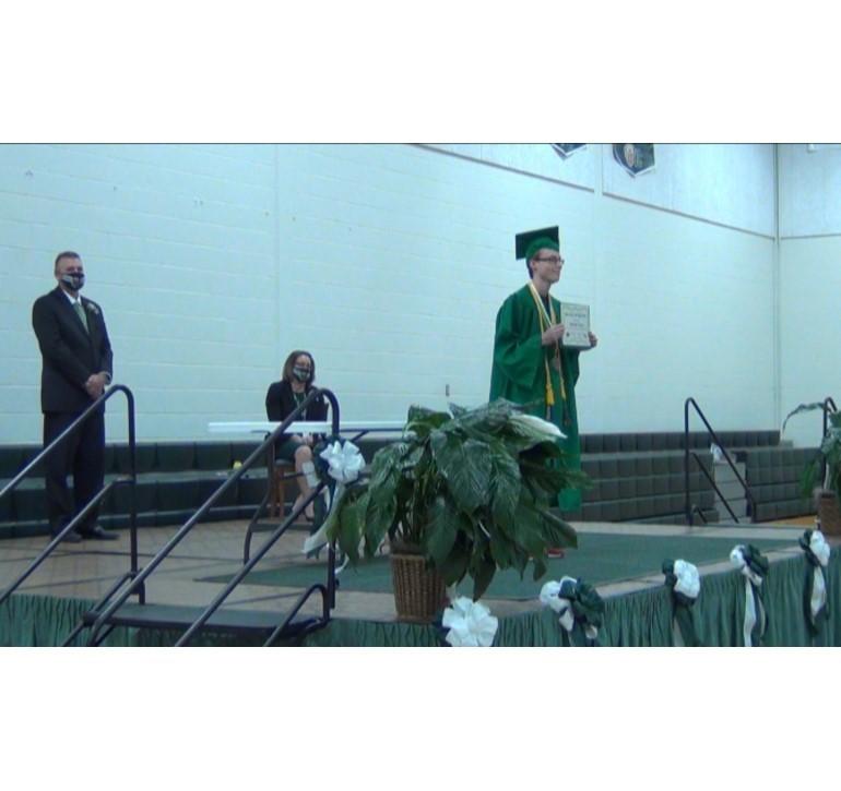 Dominick Ferraro Union City High School Commencement