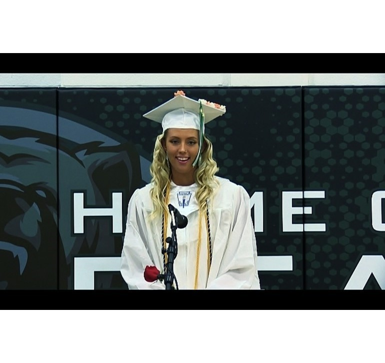 Julia Watson Union City High School Commencement
