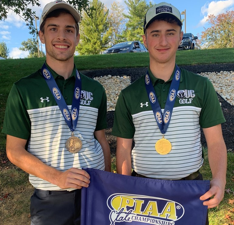 Congratulations to Josh James on his PIAA - AA STATE CHAMPIONSHIP! and to Tyler Parkhurst for placing 5th at the State Tournament