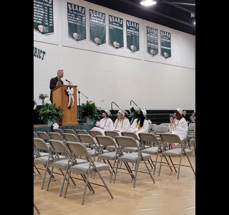 Commencement Celebration Class of 2020 with keynote speaker Mr. Kyle Blakeslee