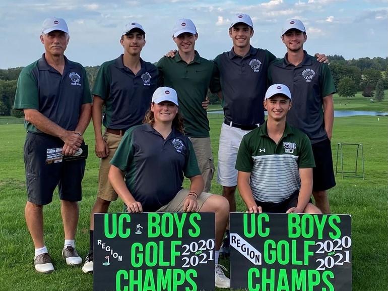UCASD Boys Golf - Back-to-Back Region Champions